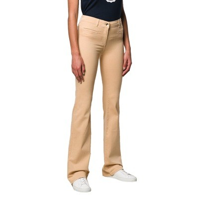 PATRIZIA PEPE - Jeans a zampa - Camel Beige
