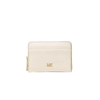 MICHAEL KORS - Money Pieces Card Case - Light Cream