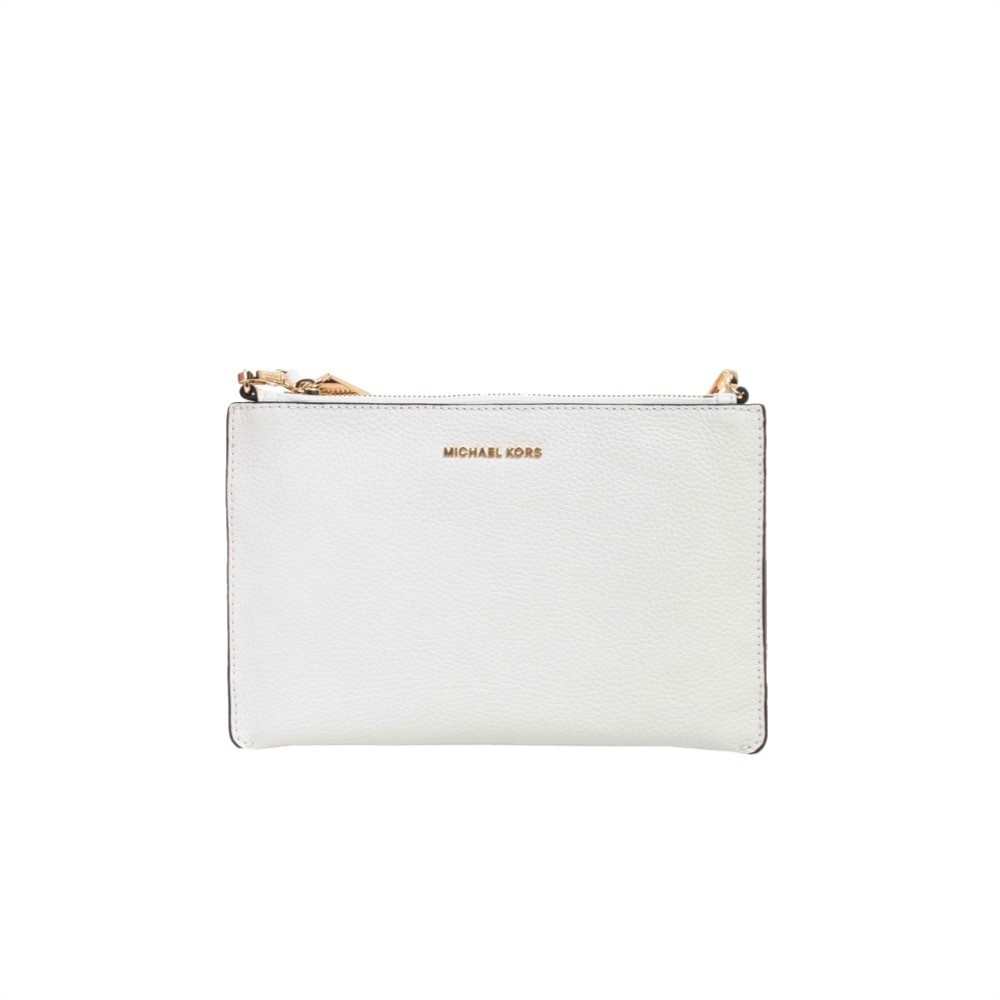 MICHAEL KORS - Large Double Crossbody - Optic White