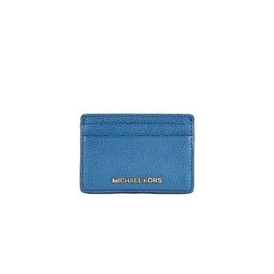 MICHAEL KORS - Card Holder - Dark Chambray