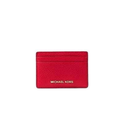 MICHAEL KORS - Card Holder - Bright Red