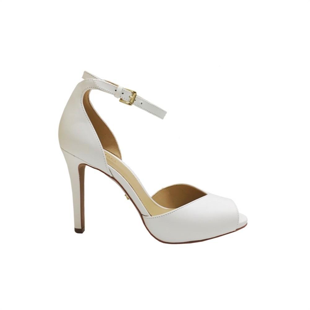 MICHAEL KORS - Cambria sandalo alto - Optic White
