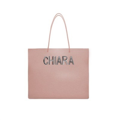 MIA BAG - Tote Bag Minimal - Cipria