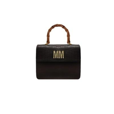 MIA BAG - Doctor Lux Pelle Cocco Personalizzabile - Nero