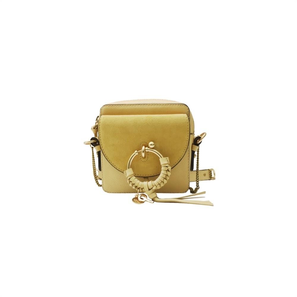 SEE BY CHLOÉ - Joan Mini Crossbody Bag - Straw Beige