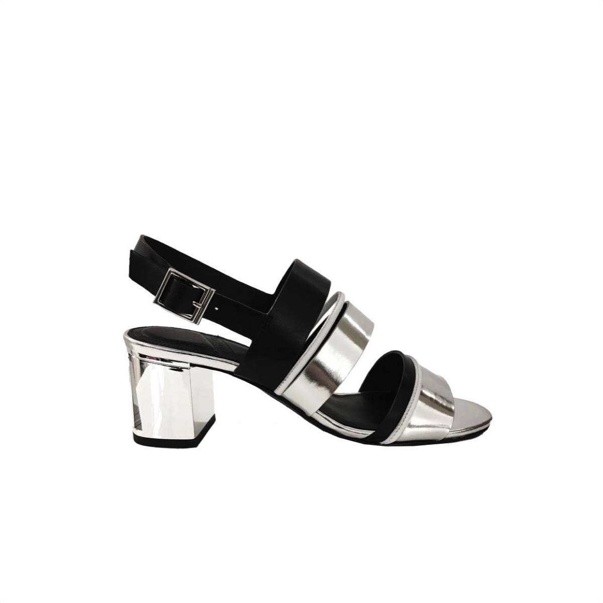 WHAT FOR - Vera Sandalo - Black/Silver