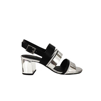 WHAT FOR - Vera Sandalo - Black/Silver