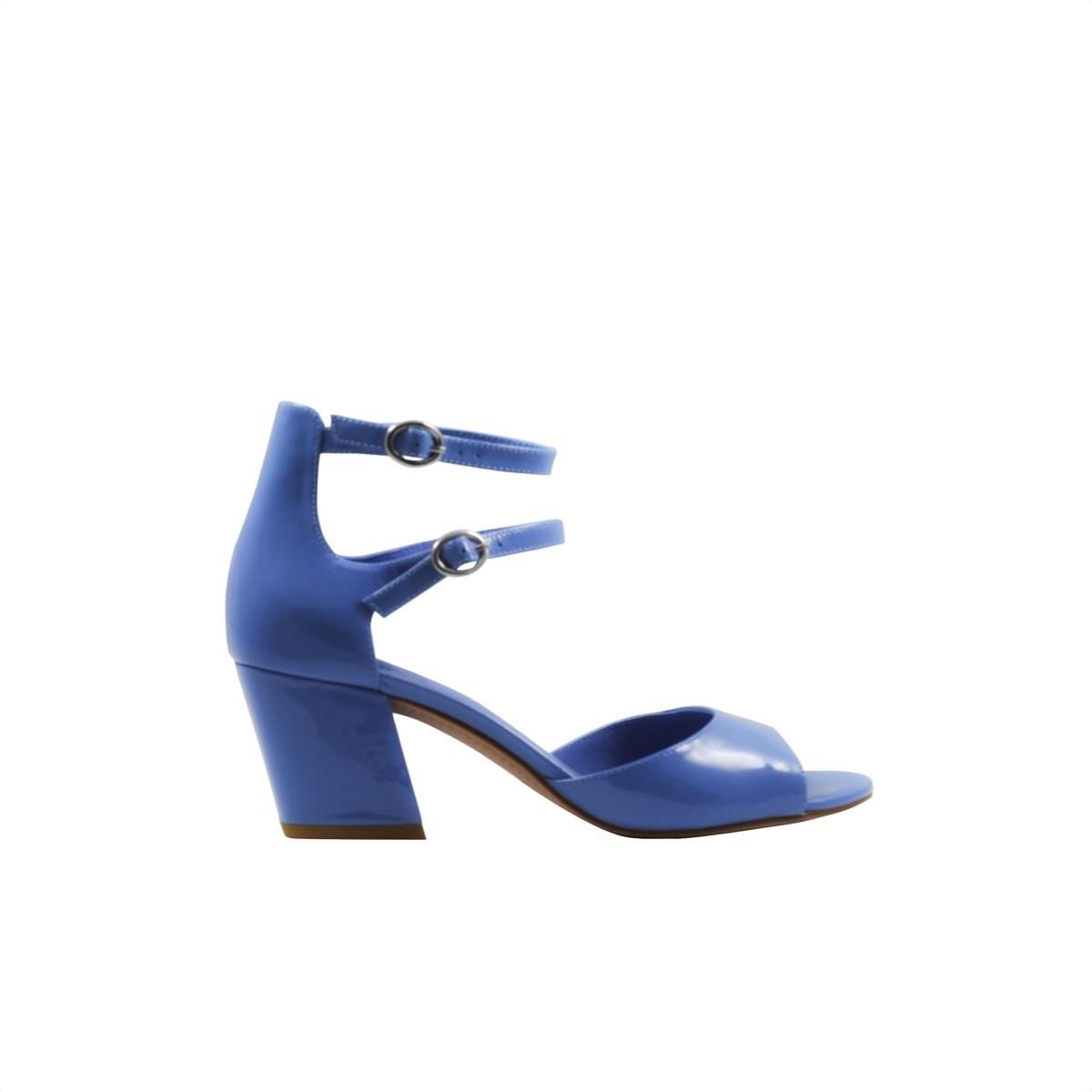 WHAT FOR - Domitille sandalo vernice - Light Purple