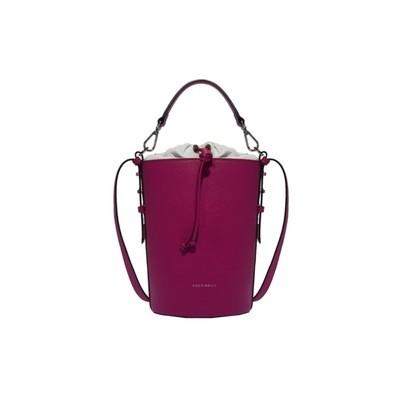 COCCINELLE - Beta Mini Secchiello - Ultra Violet/Blanche
