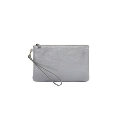 COCCINELLE - New Best Soft Pochette Medium - Silver