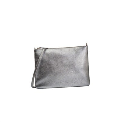 COCCINELLE - New Best Crossbody Soft - Silver