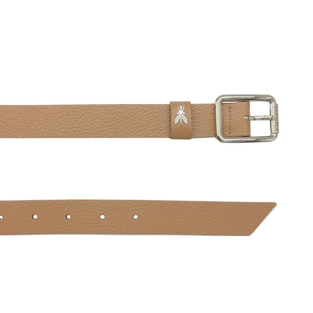 PATRIZIA PEPE - Cintura vita bassa in pelle - Trotter Brown