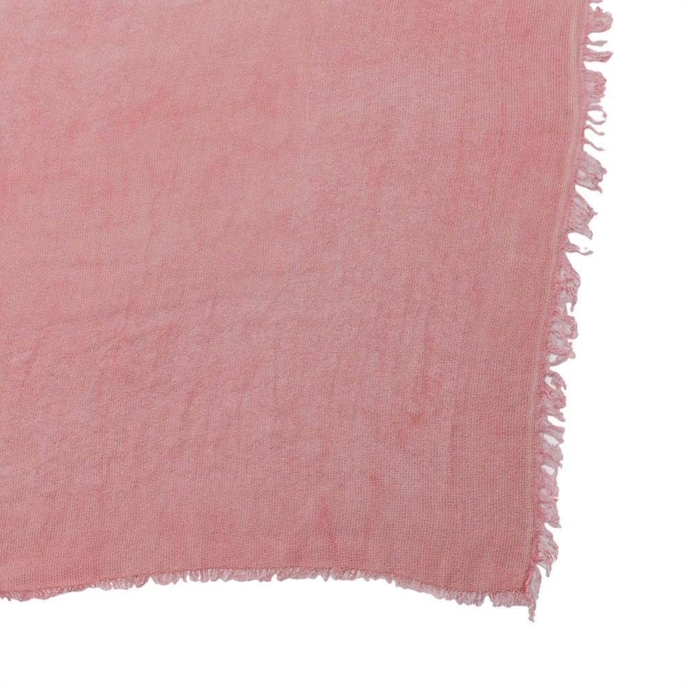 PATRIZIA PEPE - Foulard in modal e viscosa - Washed Gold Rose