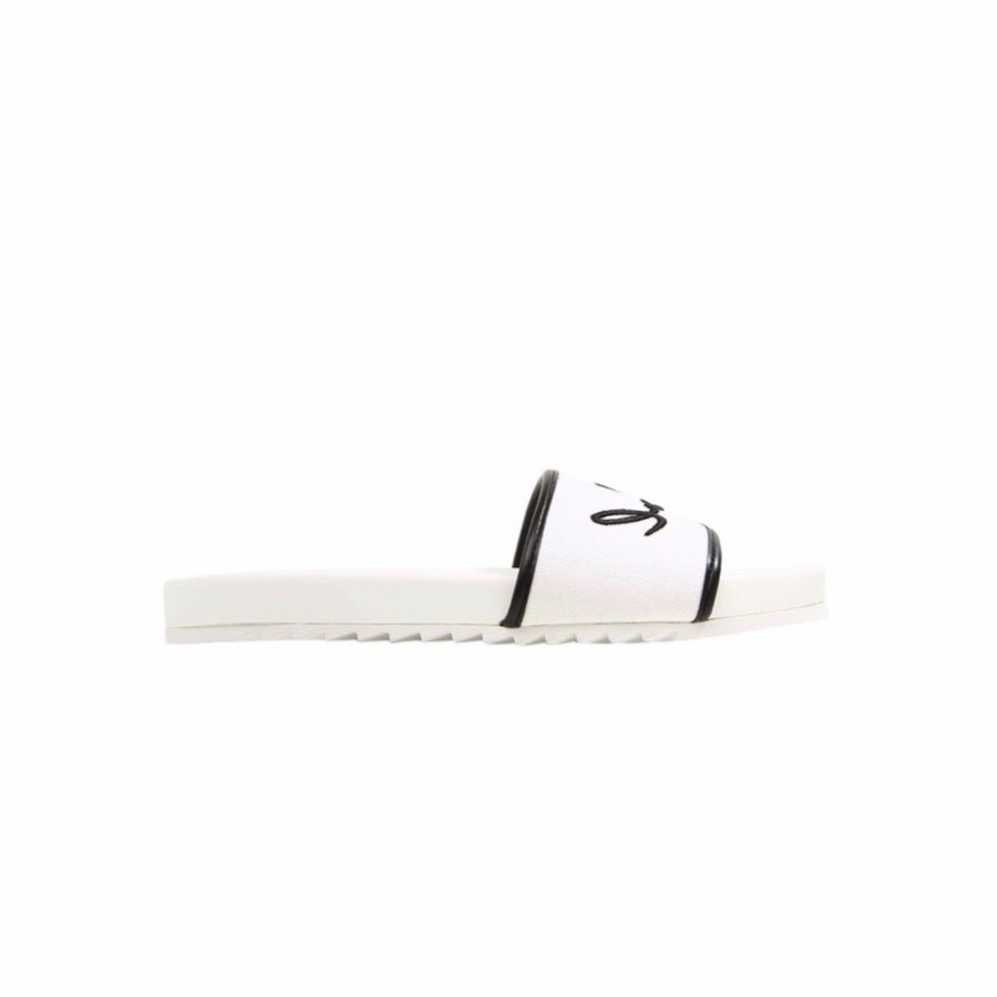 KARL LAGERFELD - Sliders Kondo Signature Karl - Bianco