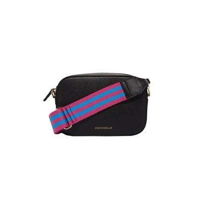 COCCINELLE - Tebe Mini Bag Crossbody - Noir