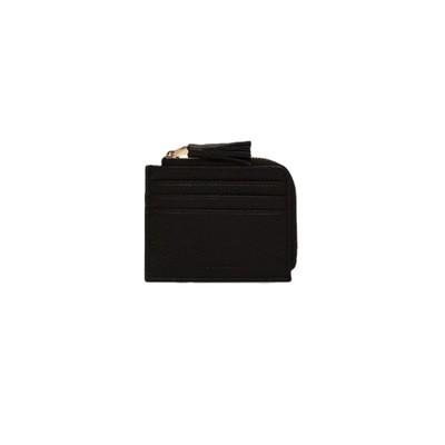 COCCINELLE - Tassel Portacarte - Noir