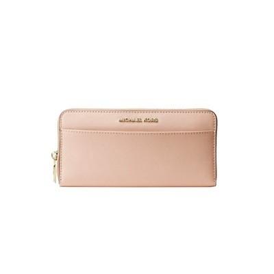 MICHAEL KORS - Portafoglio continental in pelle Saffiano - Soft Pink