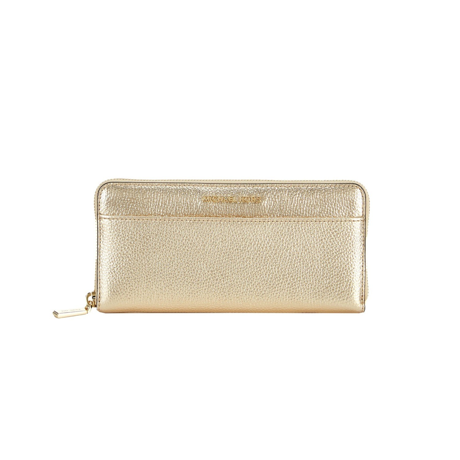 MICHAEL KORS - Mercer Pocket ZA Continental - Pale Gold