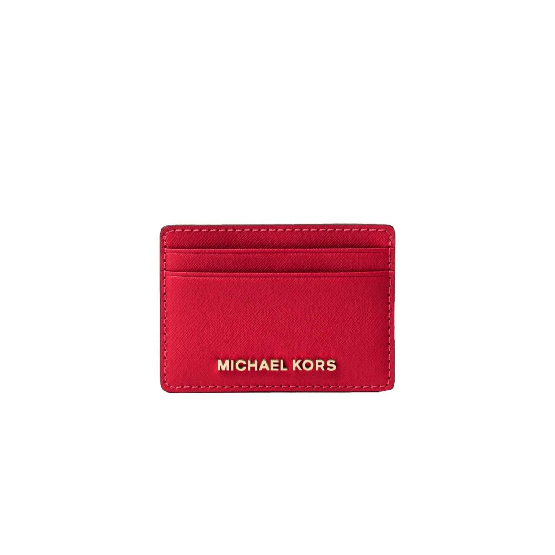 MICHAEL KORS - Jet Set Travel Card Holder - Bright Red