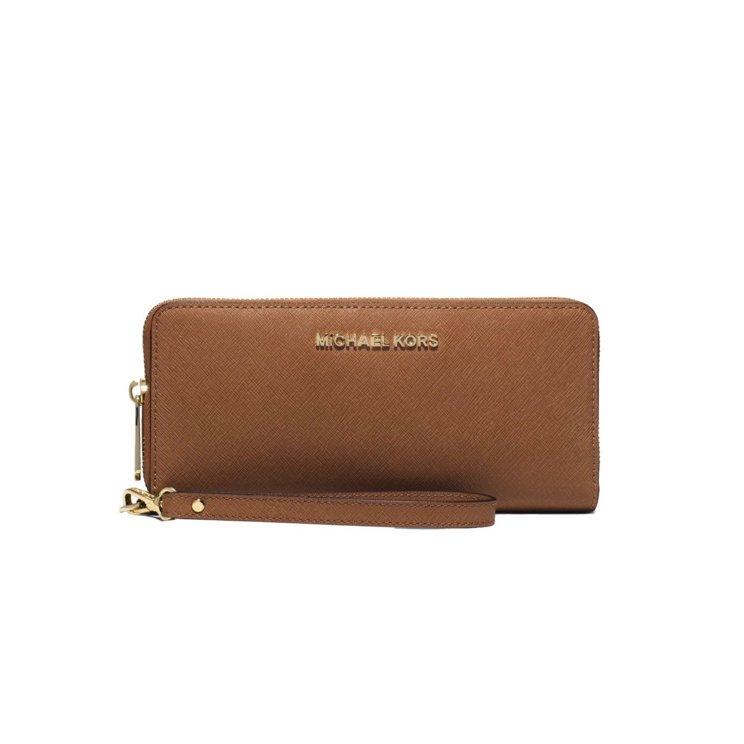 MICHAEL KORS - Jet Set Travel Travel Continental - Acorn