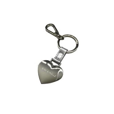 COCCINELLE - Cuore Portachiavi/Charm - Silver