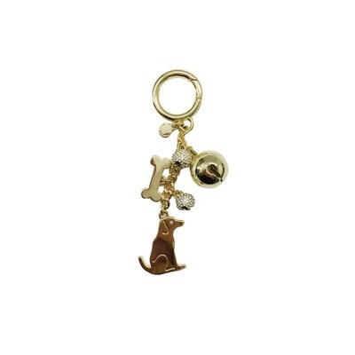 MICHAEL KORS - Dog Charm - Gold