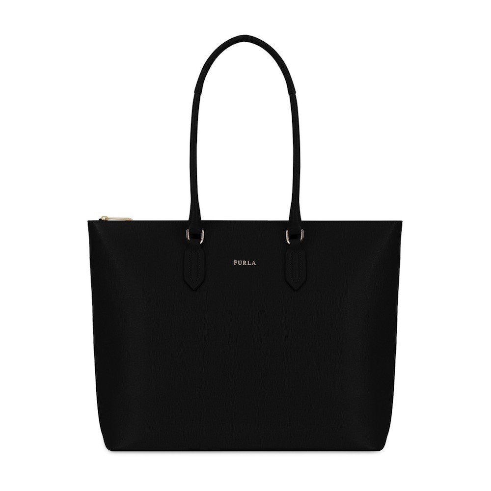 FURLA - Pin M Tote Shopping - Onyx