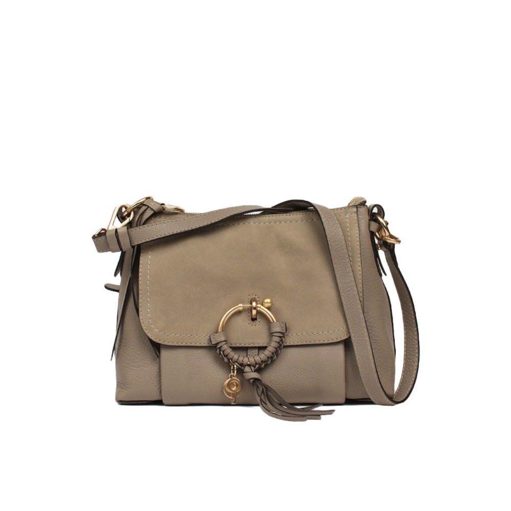 SEE BY CHLOÉ - Joan Small Shoulder Bag - Motty Grey