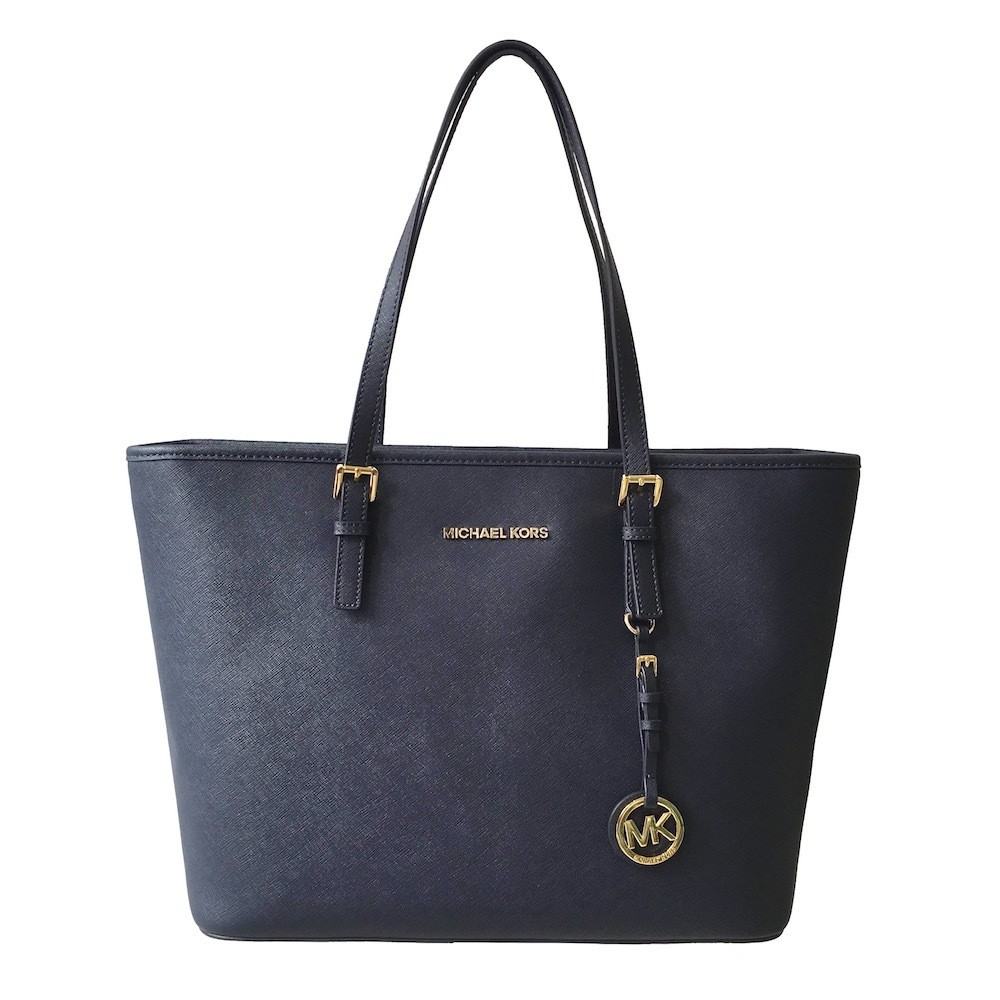 MICHAEL KORS - Jet Set Travel Top Zip Tote - Admiral