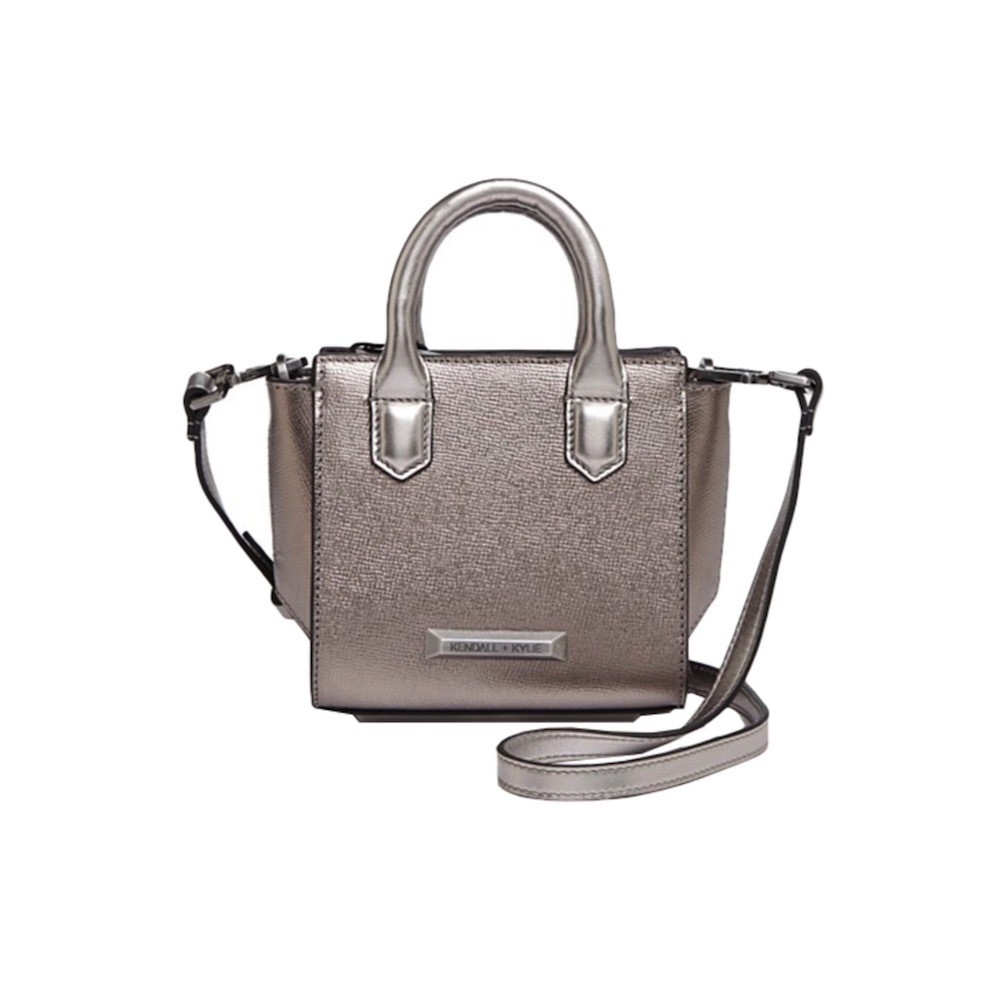 KENDALL+KYLIE - Brook Nano Mini Satchel - Gunmetal
