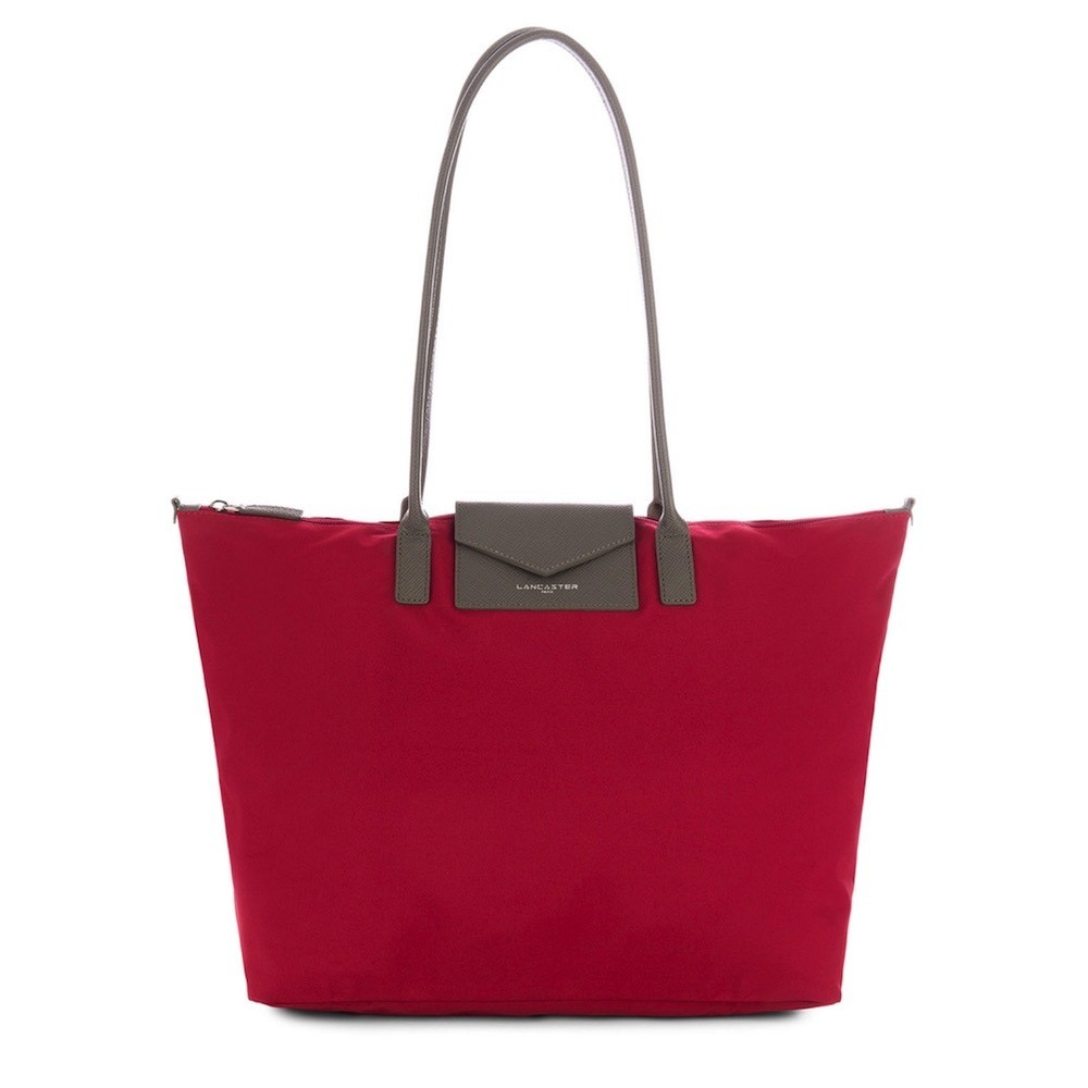 LANCASTER - Large tote bag - Rouge