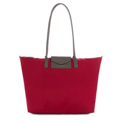 LANCASTER - Large tote bag - Rouge