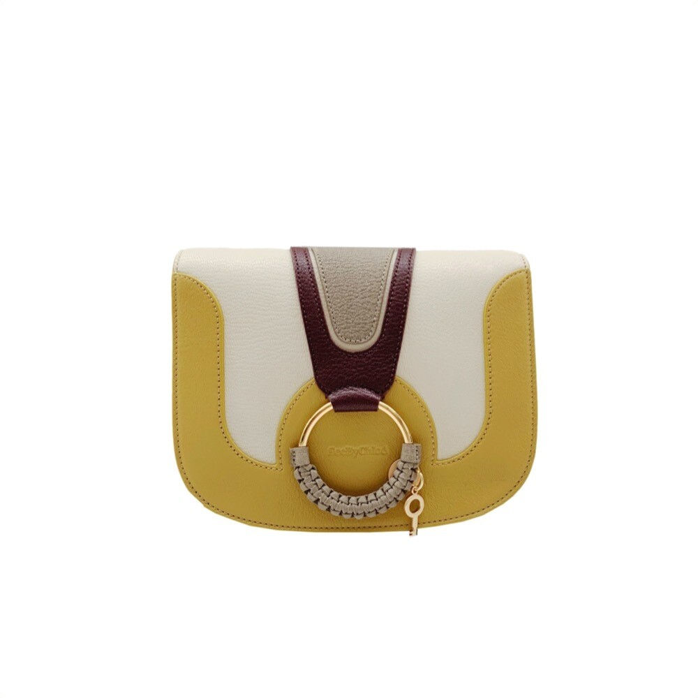 SEE BY CHLOÉ - Hana Small Crossbody Bag - Burnt Yellow