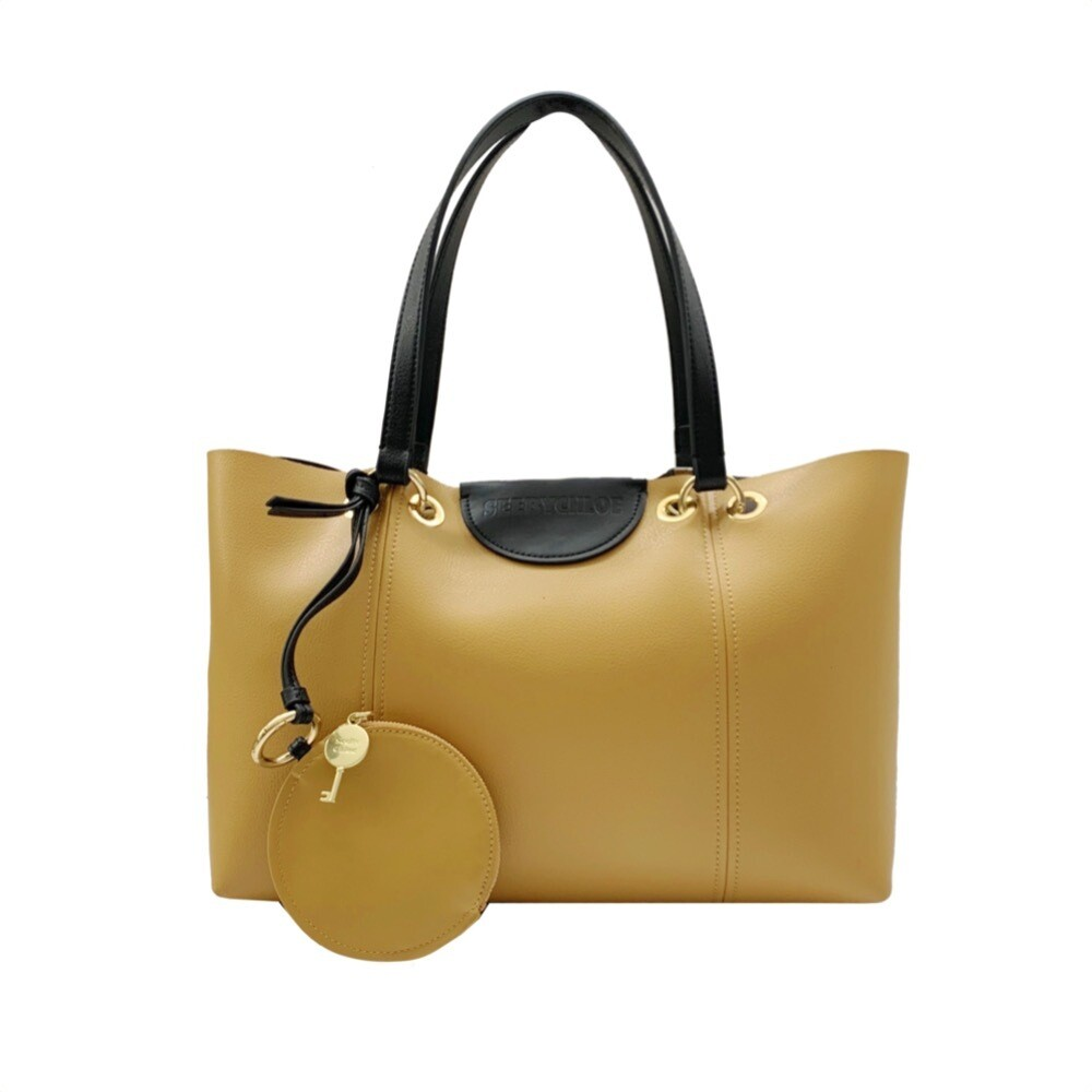 SEE BY CHLOÉ - Marty Shopping media - Burnt Yellow