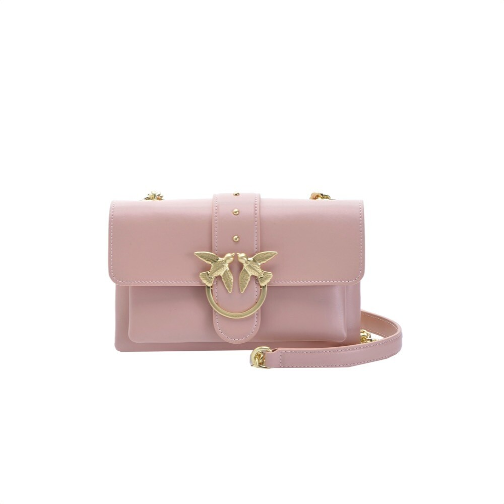 PINKO - Mini Love Bag Soft Simply in pelle - Light Pink