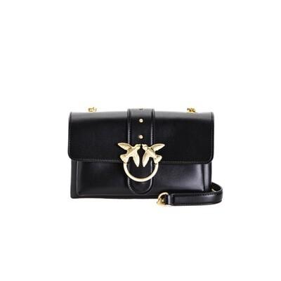 PINKO - Mini Love Bag Soft Simply in pelle - Black