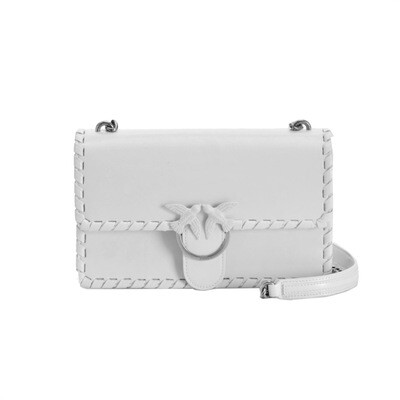 PINKO - Love Bag Twist - White