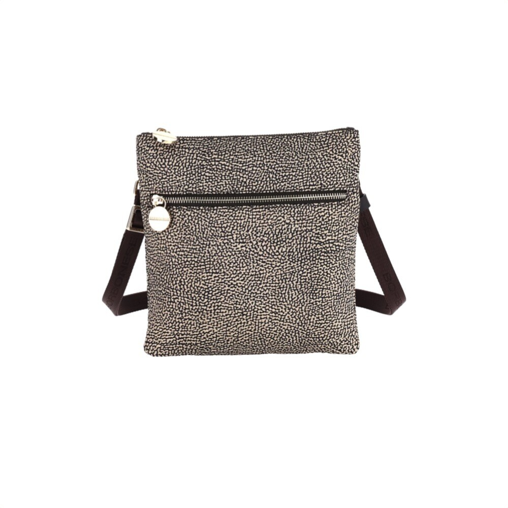 BORBONESE - Borsa tracolla Small in Jet OP - OP Classic/Brown