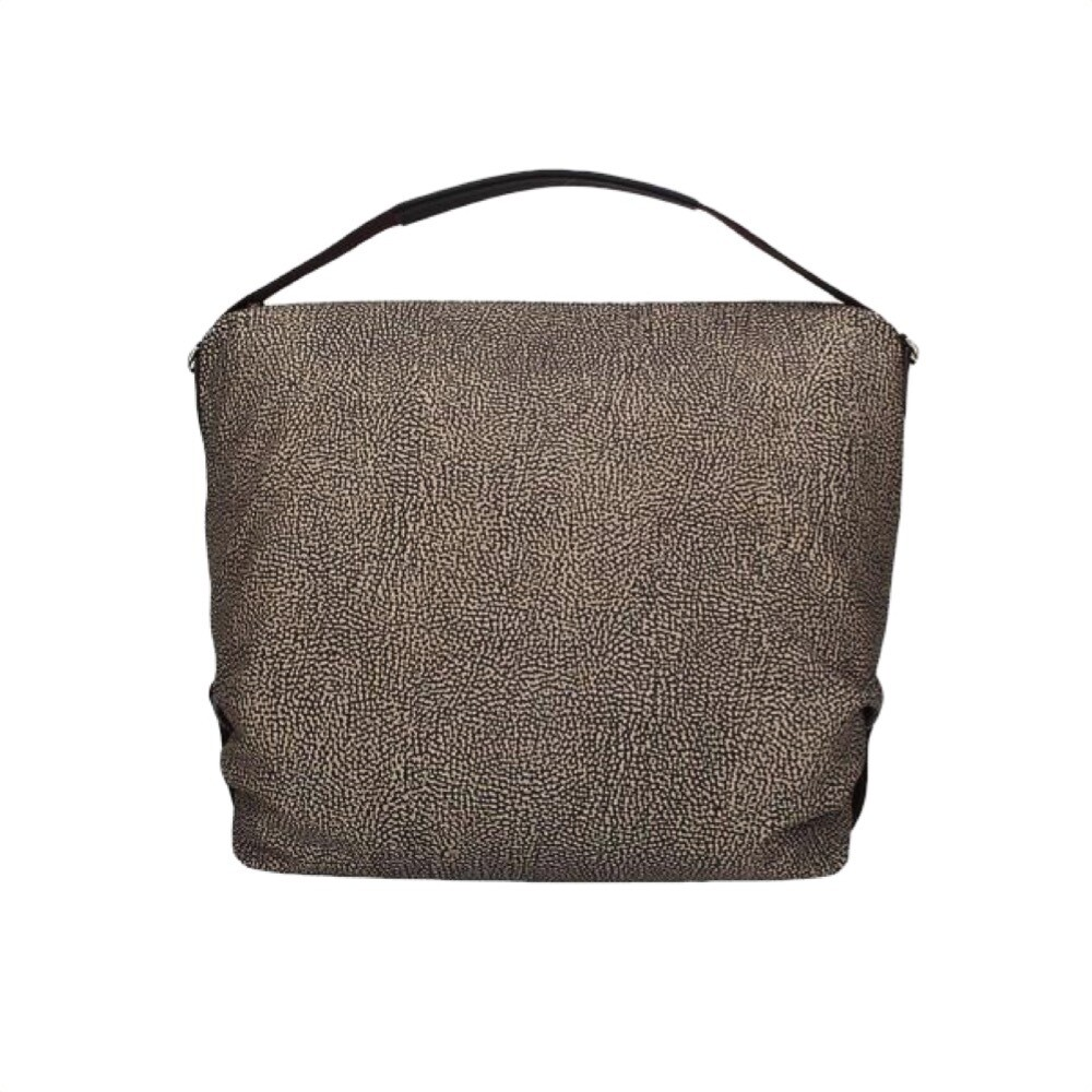 BORBONESE - Hobo Large con tracolla - OP Classic/Brown