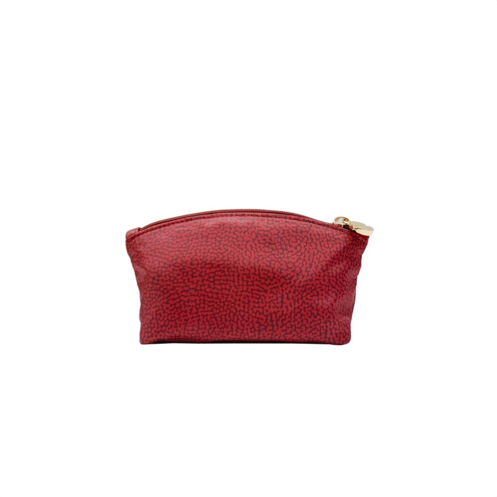 BORBONESE - Beauty Case Small in Jet OP - Burgundy