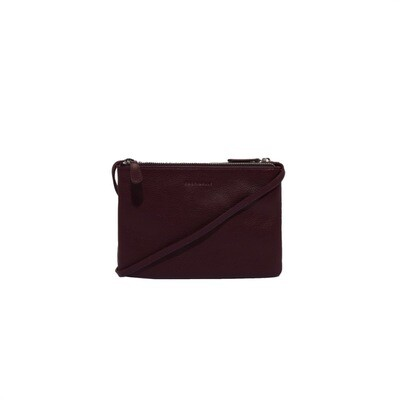 COCCINELLE - Coralie Mini Bag - Plum