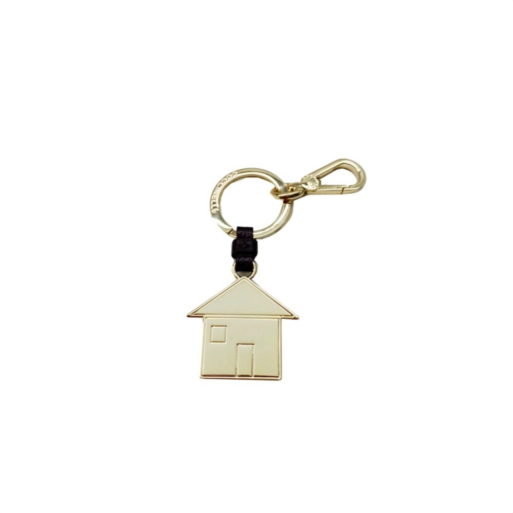 COCCINELLE - Casa Portachiavi/Charm Basic Metal - Plum