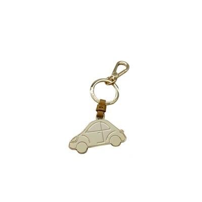 COCCINELLE - Macchina Portachiavi/Charm Basic Metal - Camel