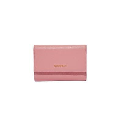 COCCINELLE - Metallic Soft Portafoglio Medio - Blossom