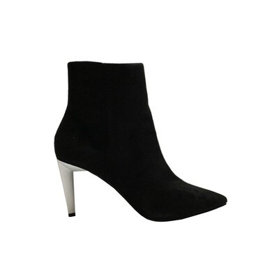 KENDALL+KYLIE - Zoe tronchetto suede - Black