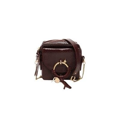 SEE BY CHLOÉ - Joan Mini Crossbody Bag - Burgundy