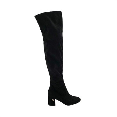 GUESS - Adlee Stivale suede - Black
