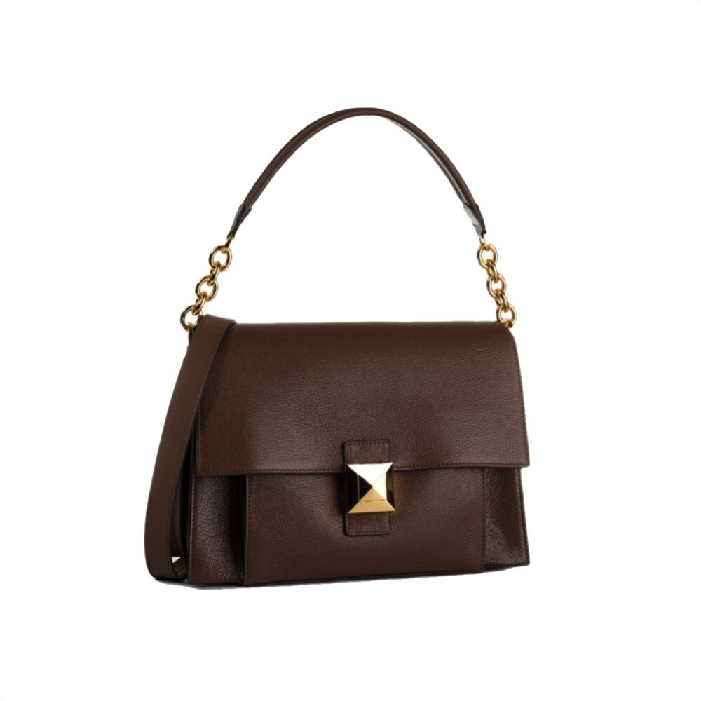 FURLA - Diva M Shoulder Bag - Corteccia