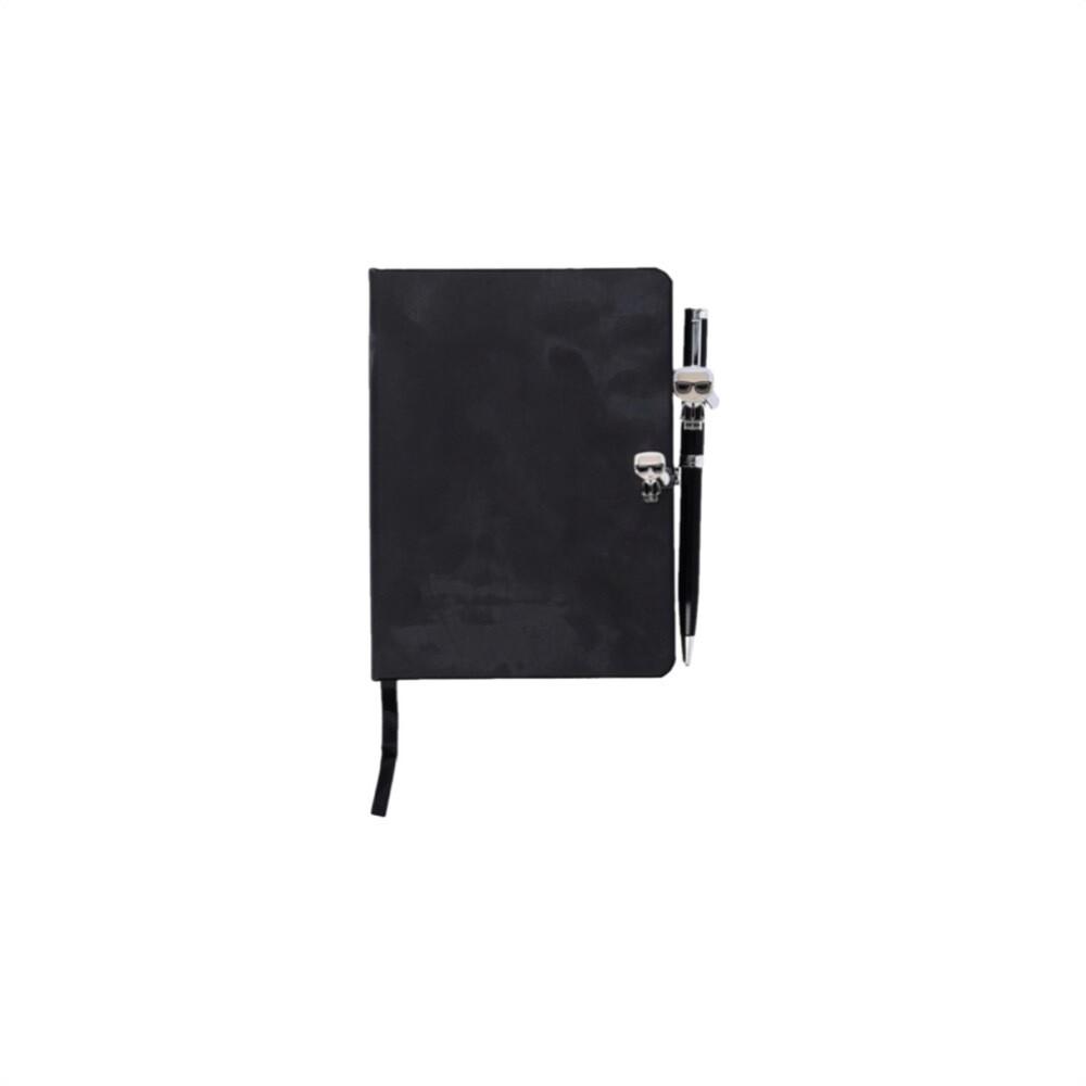 KARL LAGERFELD - Set agenda e penna - Black