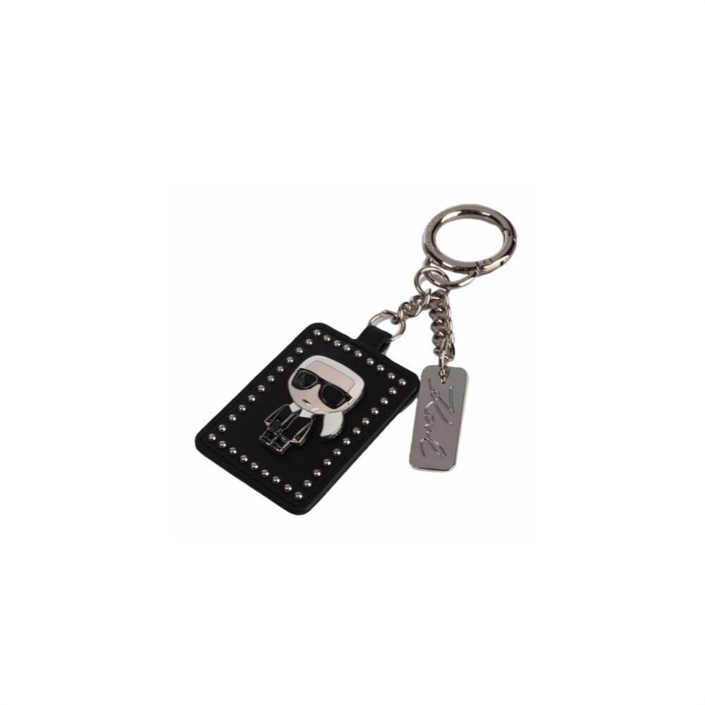 KARL LAGERFELD - K/Ikonik 3D Keychain - Black